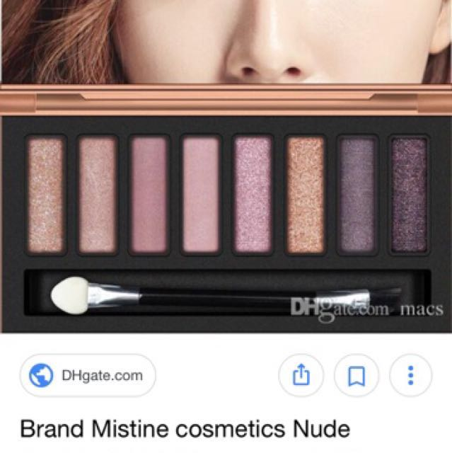 Mistine Nudy Brown eye palette