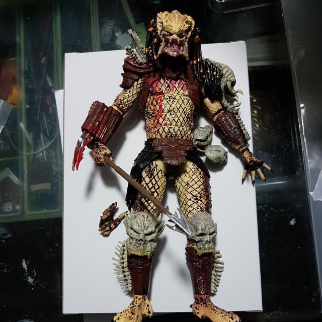 Neca Bad Blood Predator NOT Aliens Toy Biz Toybiz Marvel