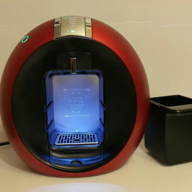 雀巢NESCAFE 膠囊咖啡機 9742FS New Circolo 紅色
