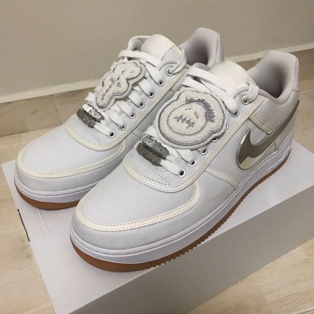 Nike Air Force 1 x Travis Scott US10 bd812acaf