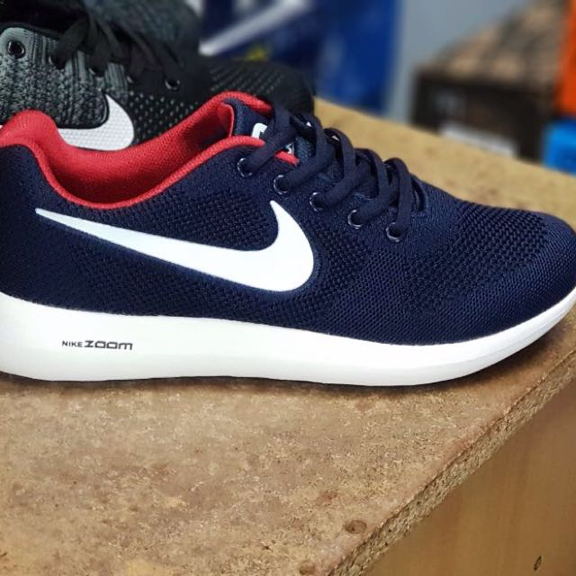 Nike Air Max Zoom Navy Blue, Men's Fashion, Footwear, Sneakers on Carousell
