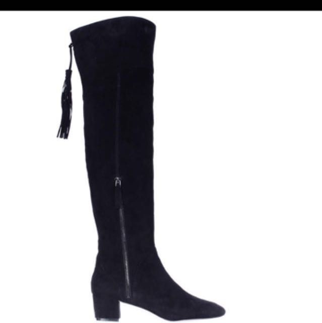 NINE WEST OVER THE KNEES THIGH HIGH BOOTS
