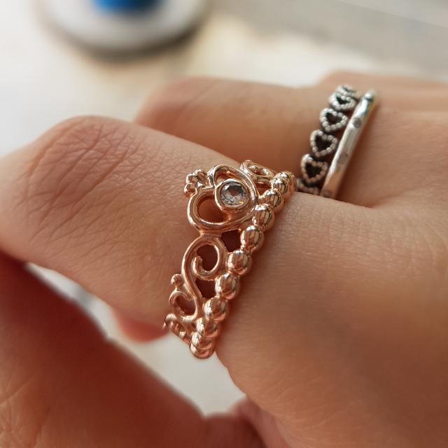 4dc4a2965 ... hot pandora my princess tiara ring rosegold womens fashion accessories  on carousell ac513 b9155 ...