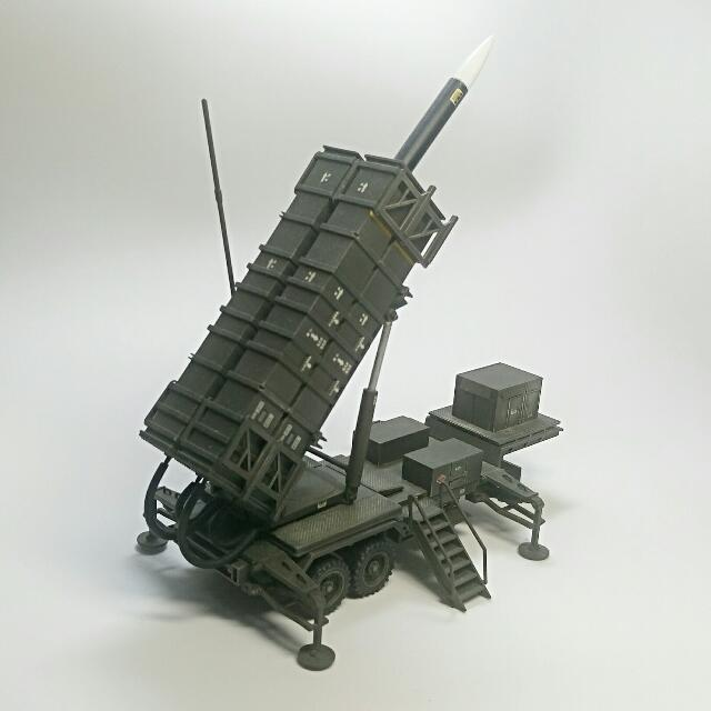 Patriot Missiles Launcher 1/48