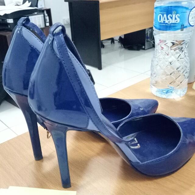 Pedro Shoes Blue Heels