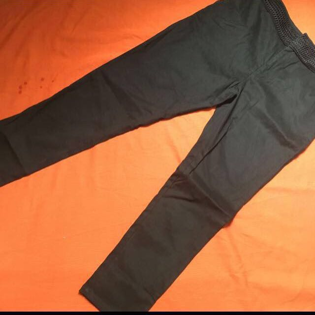 Plains&Prints Black Slacks, Size: Large 📍📍📍sale 📍📍📍 now P500