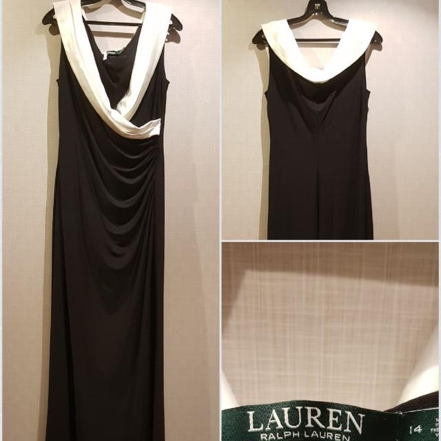 Ralph Lauren Evening Dress Sz 14 Womens Fashion Clothes