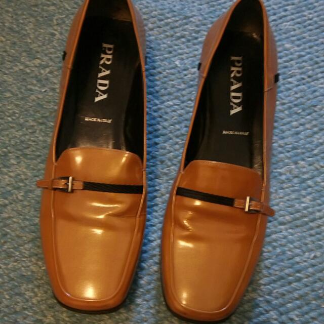 PRDAD漆皮休閒鞋淺棕色38.5