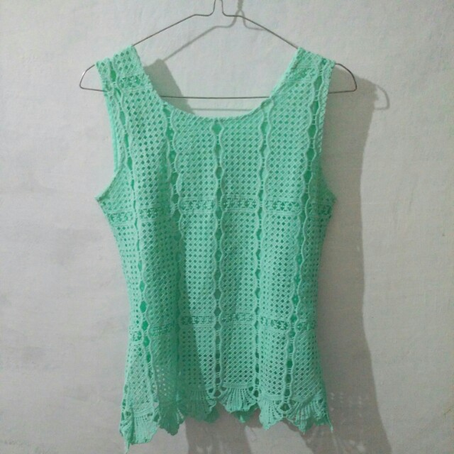 preloved green top