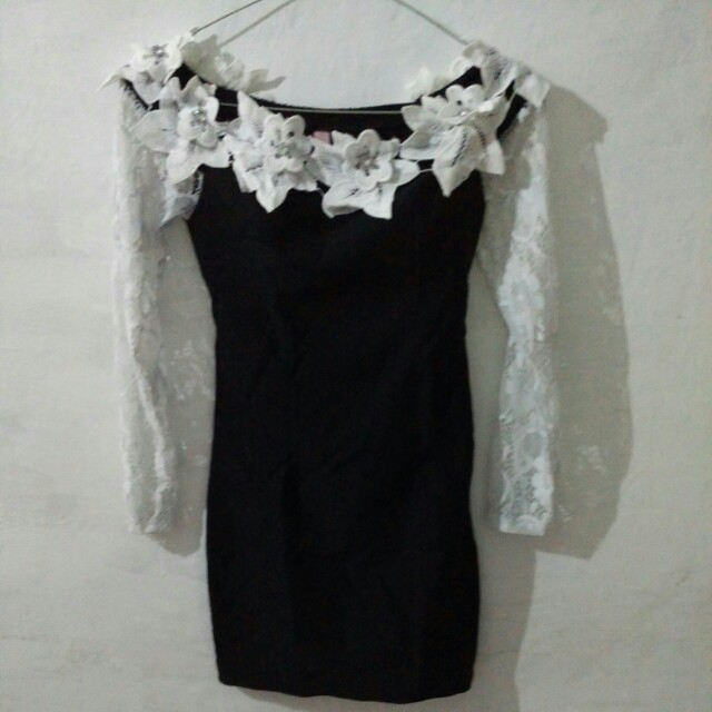 preloved korean lace dress