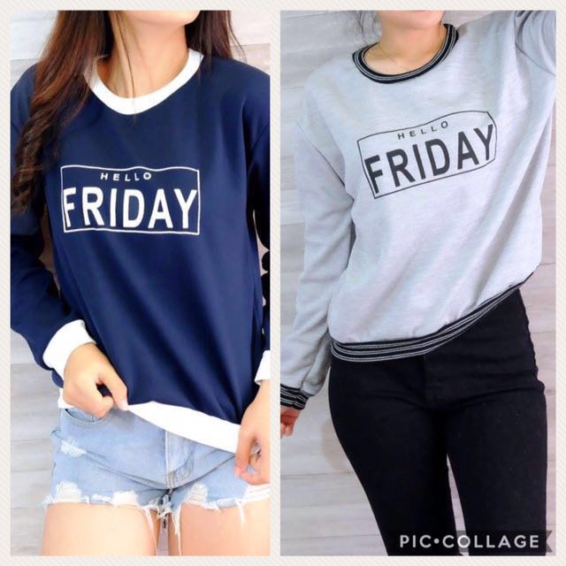 Pullover 👋🏻 Hello Friday
