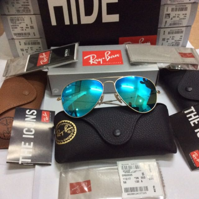 Ray Ban Aviator (100% authentic d346cb3ac2