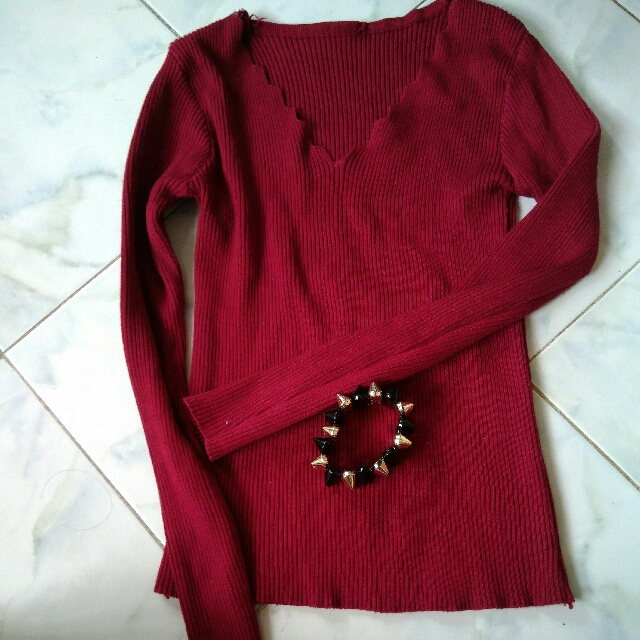 🐒Red Christmas Knitted