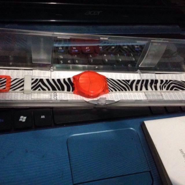 Reprice! Jam Swatch Orange Zeb