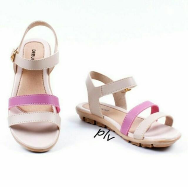 Sepatu sandal wanita flat tali