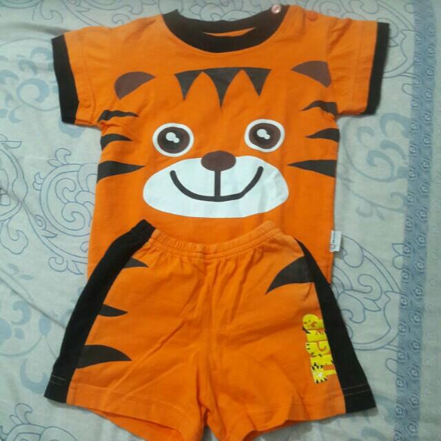 Setelan tiger