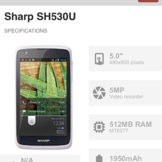Sharp mobile phone cheap