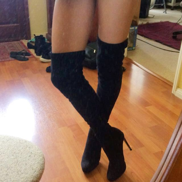 Siren Thigh High Boots