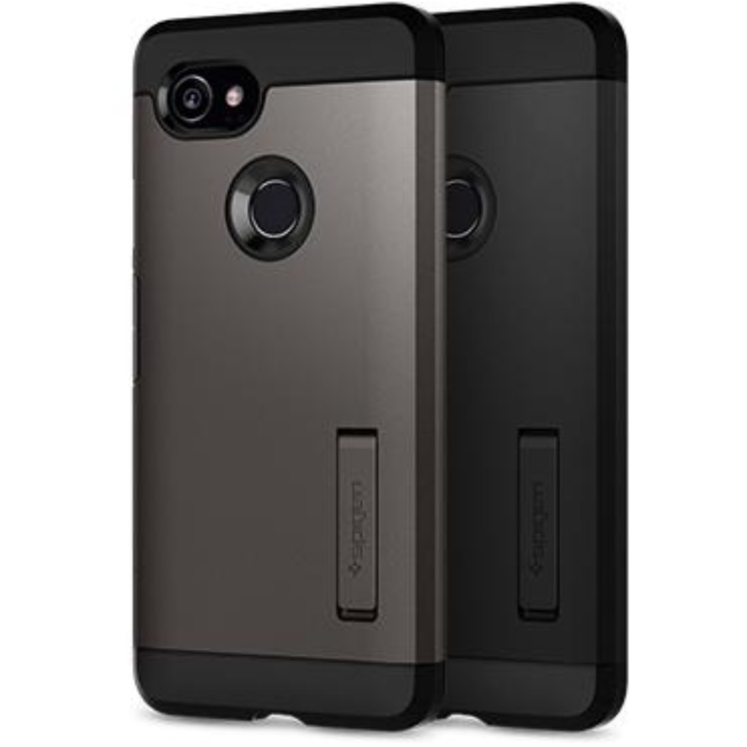 sale retailer 58c61 2eb8e Spigen Google Pixel 2 XL Case Tough Armor