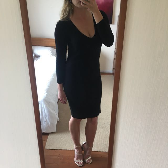 Super sexy knit dress