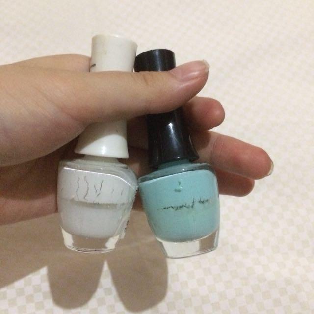 The face shop nail polish