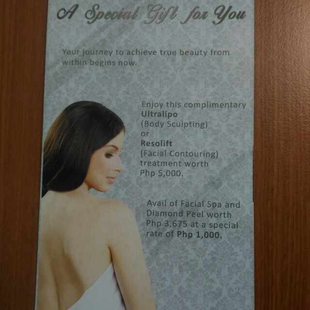 The Zen Institute GC worth Php 5000 (Ultralipo- Body Sculpting or Resolift- Facial Contouring)