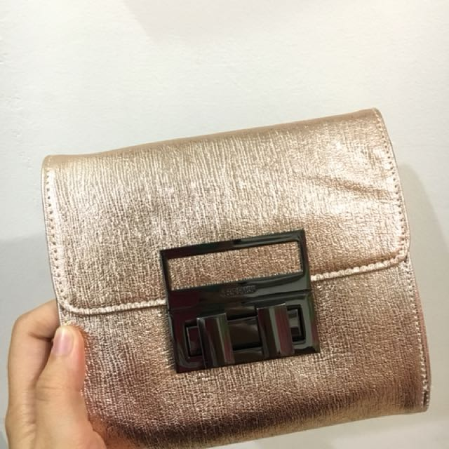 Topshop Gold Sling Bag