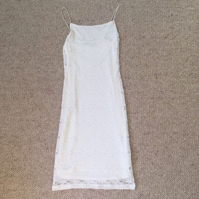 Topshop lace stretchy dress