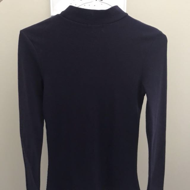 Turtle Neck Navy