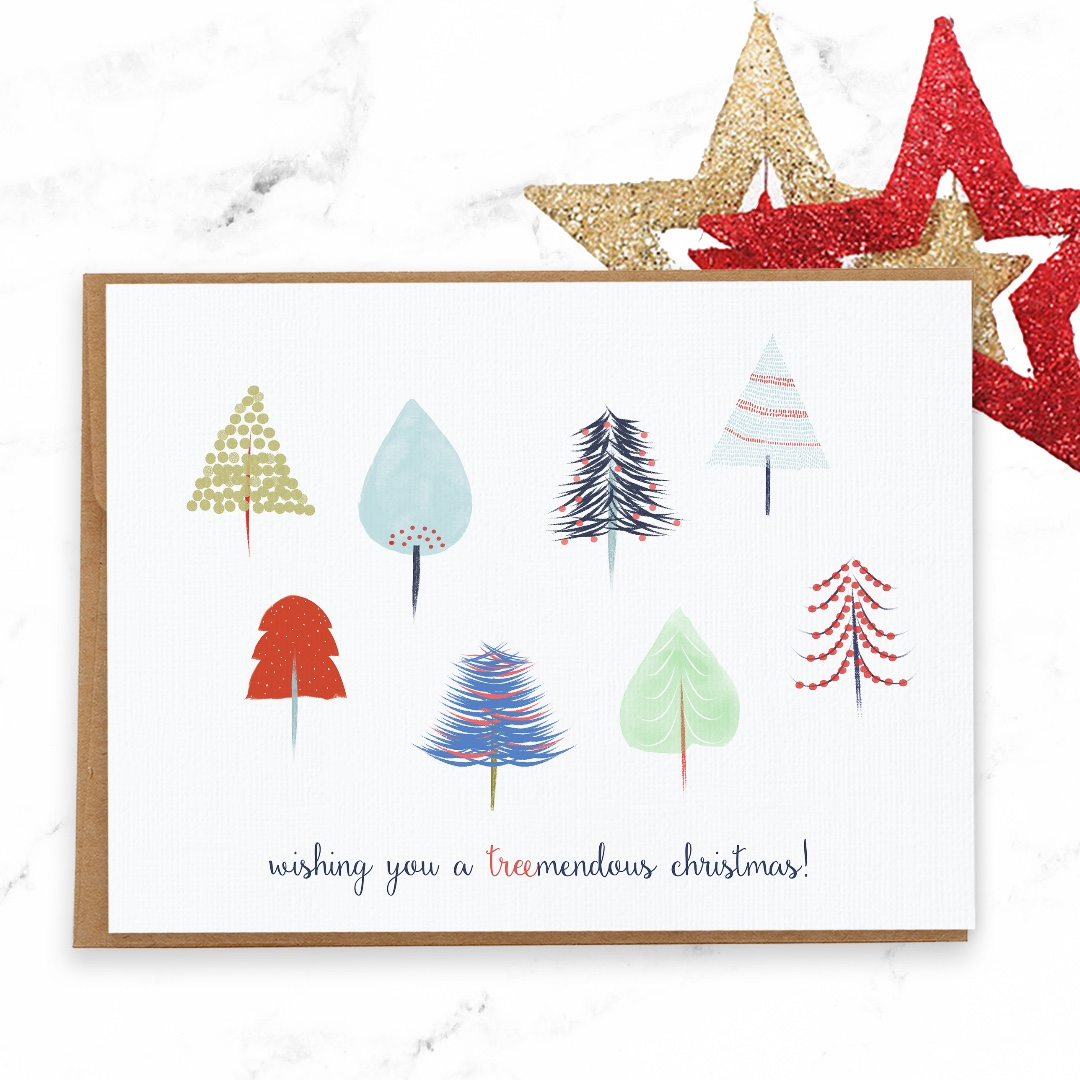 Unique Christmas Cards Pretty And Cute Christmas Card Fun Nordic