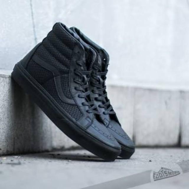 Vans Sk8 Hi tops/Leather Sz 8