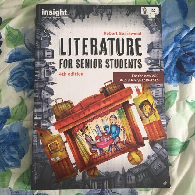 VCE Literature insight textbook