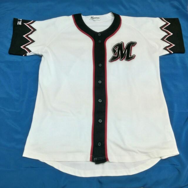 separation shoes 97726 8618d Vintage Baseball Jersey Chiba Lotte Marines.
