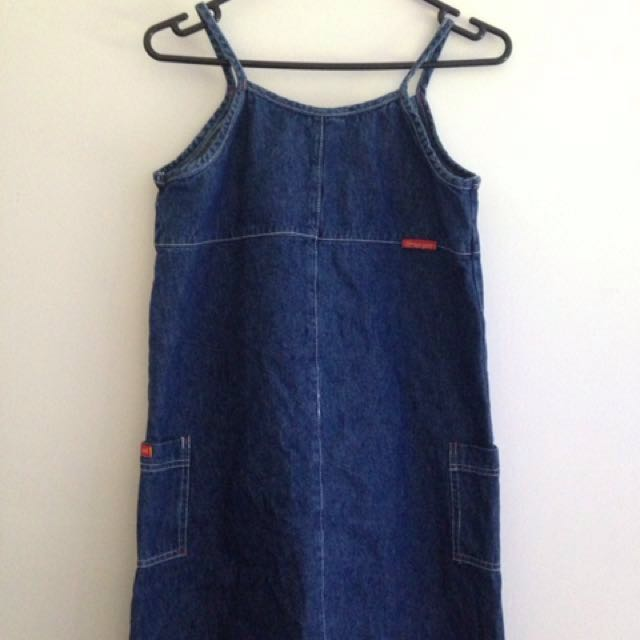 Vintage Denim Dress/Pinafore