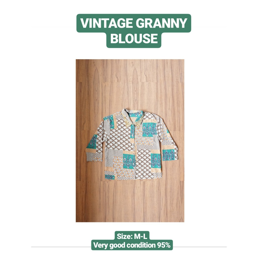 Vintage Granny Blouse