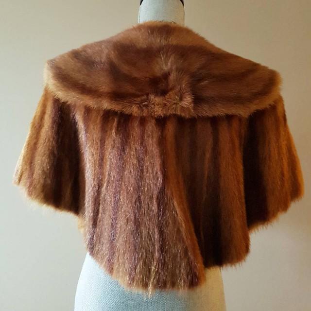 Vintage Mink Fur Stole