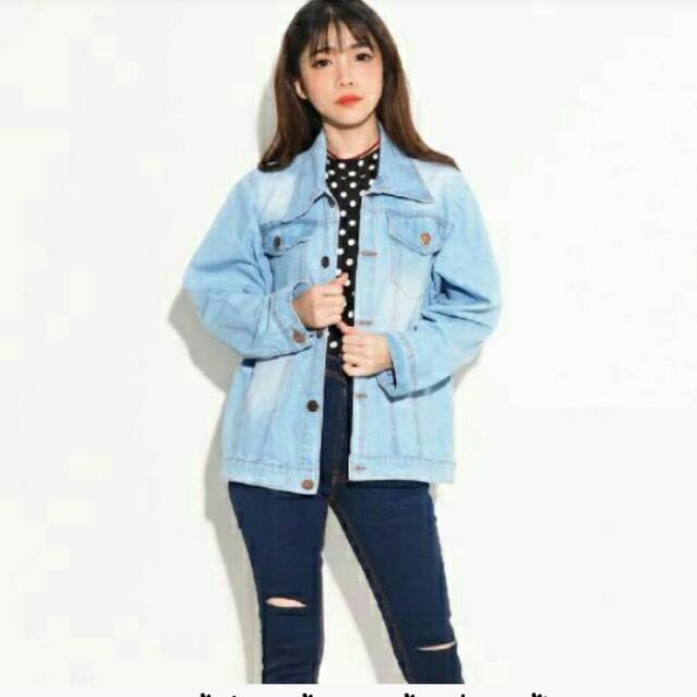 vs jaket jeans jumbo gil