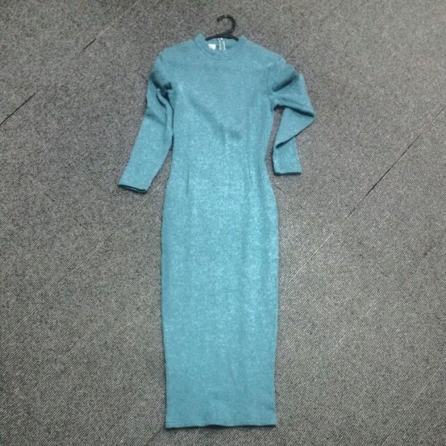 VTG Ribbed Dress