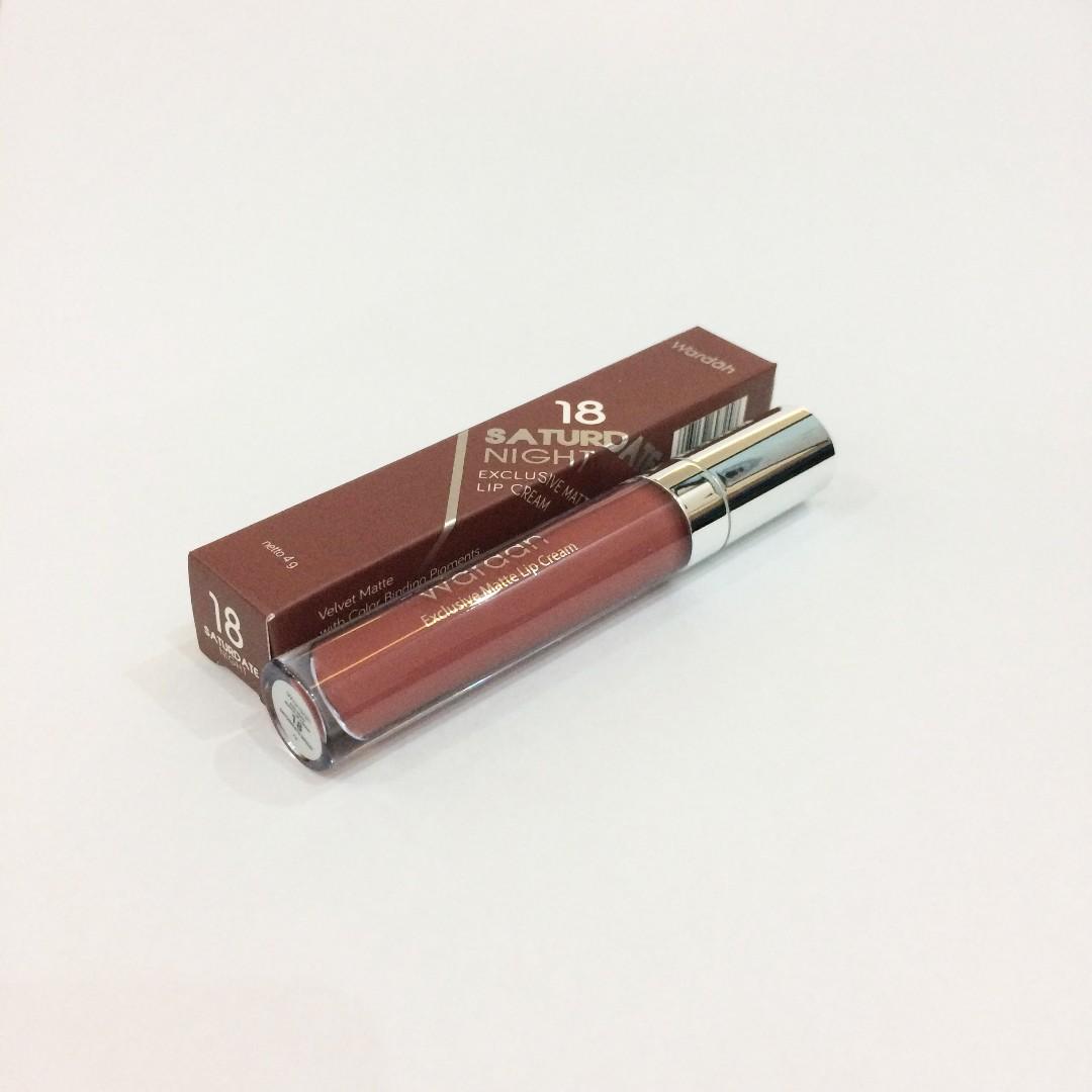 Wardah Matte Lip Cream #18