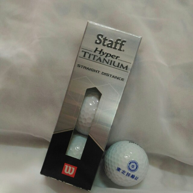 Wilson高爾夫球一盒3顆