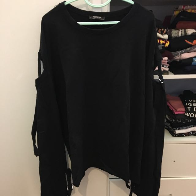 Zara Trafaluc Long Sleeve Top