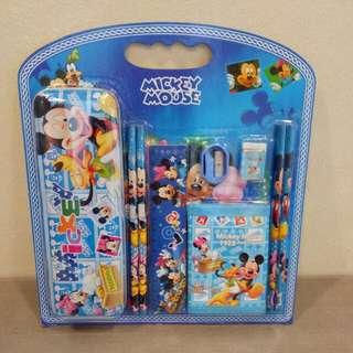 Stationery Set 9-in-1 Micky Mouse