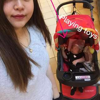 Sweet Cherry 2in 1 Stroller And Carrier