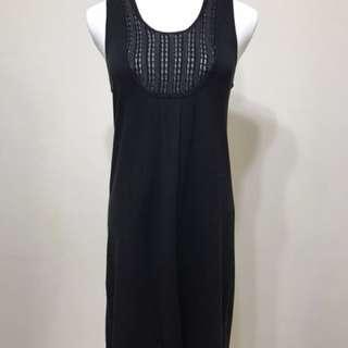 Armani Exchange 黑色針織洋裝