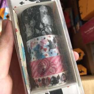 迪士尼 愛麗絲夢遊仙境 紙膠帶