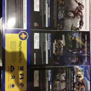SONY Playstation 4 500gb Jetblack Hits Bundle Brandnew