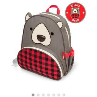 Limited Winter Edition !! Skip Hop Blake Bear School Bag