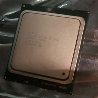 Intel Xeon E5-2667 CPU, Perfect Bin from Costa Rica, 6 Cores 12 Threads, 2.9GHz Turbo to 3.5GHz