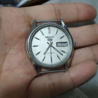 Vintage Seiko 5 Railway Watch (6309-8820) Needs Repair
