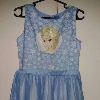 Elsa / Frozen tutu dress